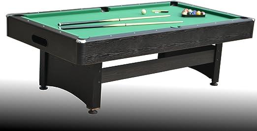 NG Biliardi Mesa de Billar reglamentaria transformable en Ping Pong y Mesa de Comedor Apollo (con Plano) - Carambola - (245 cm x 135 cm x 82 cm) - Completo con Todos