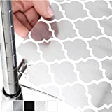 Gorilla Grip Heavy Duty Premium 36 Inch x 14 Inch Wire Shelf Liners, Set of 4, Value Pack, Waterproof, Plastic Liner for…