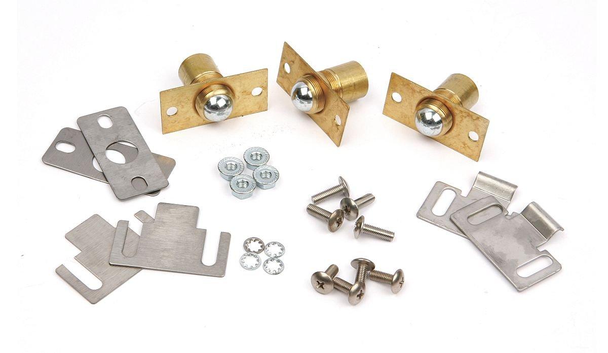 Vulcan Hart VULCAN HART 423014-G1 Door Catch Kit 2 Plungers/Chrome Ball W/Brass Plate For Vulcan Oven Sg4C 262467