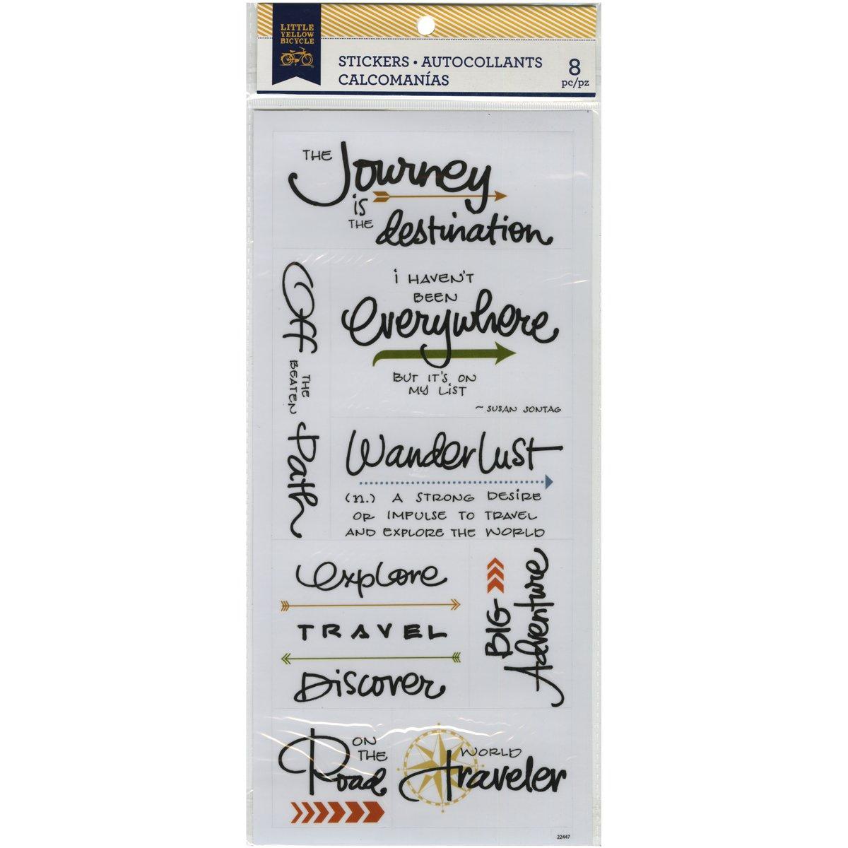 高品質の激安 Momenta Little Yellow Bicycle Travel Vellum Stickers by Vellum by Momenta Momenta B00Q9T4TQC, December.12:f5e831bd --- mvd.ee