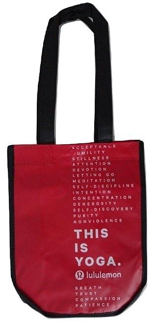 Amazon.com: Lululemon rojo bolsa para el almuerzo ...