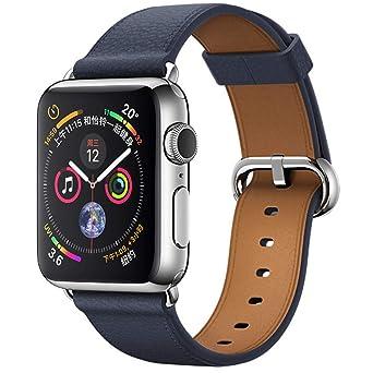 ❤ Bracelets de Montre en Cuir pour Apple Watch série 4 40MM Montres Femmes Soldes: Amazon.fr: Montres