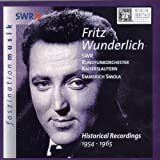 Fritz Wunderlich: Historical Recordings 1954-1965