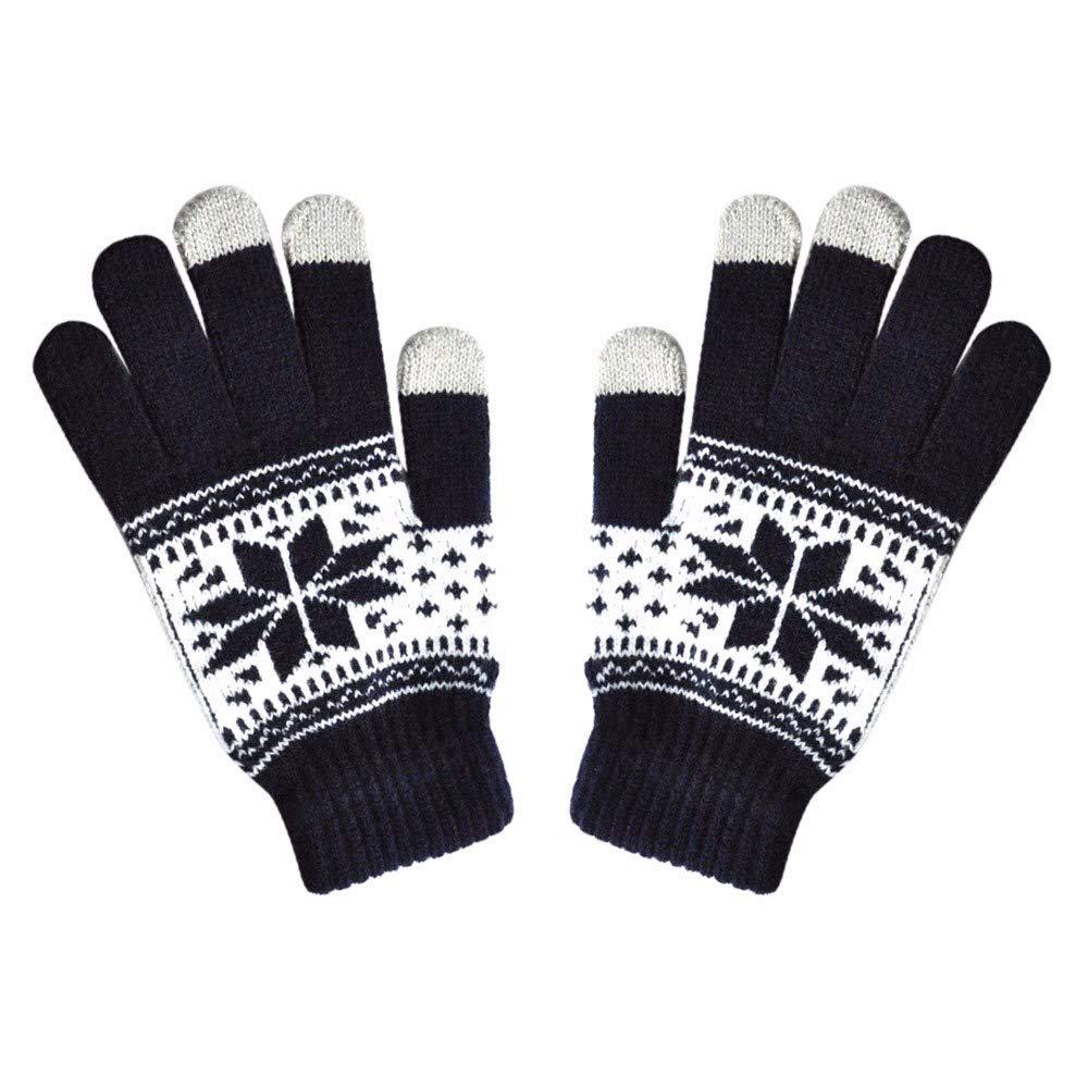 Sale! Teresamoon Fashion Men Women Winte Texting Cap Active Smart Phone Knit Soft Screen Gloves