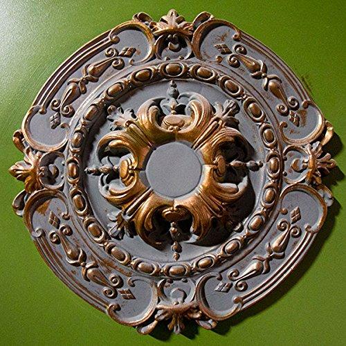 Ekena Millwork CM17SO 16 3/8-Inch OD x 2 3/4-Inch ID x 1 3/4-Inch Southampton Ceiling Medallion by Ekena Millwork (Image #5)