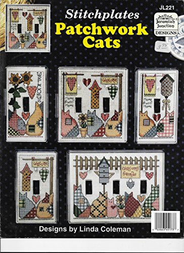 Stitchplates - Patchwork Cats (Cross Stitch Patterns Leaflet) JL221 Jeremiah Junction Designs ()