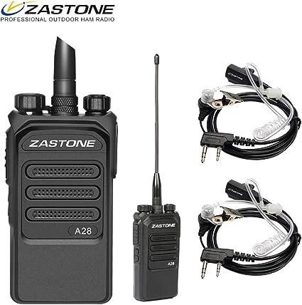 Zastone A9 10W Two Way Ham Radio UHF 400-480MHz 10KM 16CH Handheld Walkie Talkie