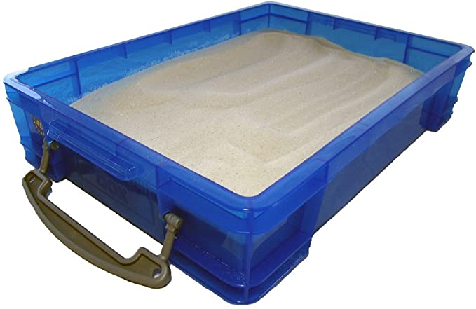 Small 4 Liter Portable Sand Tray with Lid