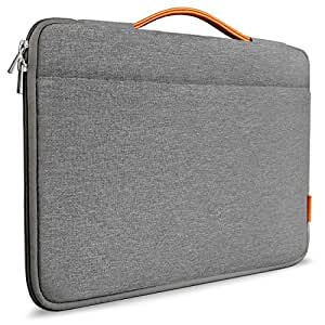 Inateck 13-13.3 Inch Laptop Sleeve Case Cover Briefcases, Compatible with Macbook Air/Macbook Pro Retina, 13'' MacBook Pro 2016&2017, 12,3'' Surface Pro 1/2/3/4/, Surface Pro 2017, Surface Laptop 2017-Dark Gray