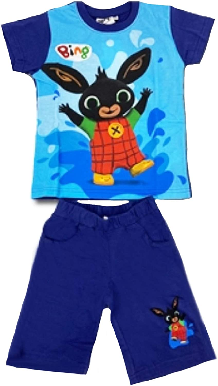 -Bing Completo T-Shirt con Pantaloncino Coniglietto Mis. 1 2 3 4 5...