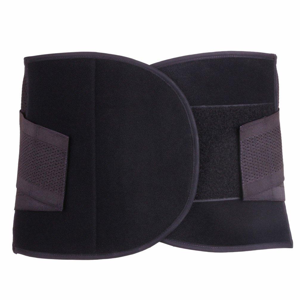 Mens Adjustable Workout Waist Trimmer Support Lower Back /& Lumbar Slimming Belt