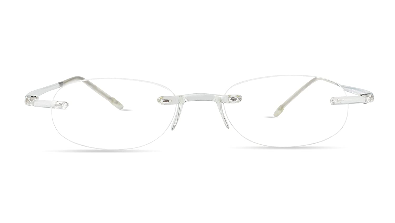Amazon.com: Gels - Lightweight Rimless Fashion Readers - The ...