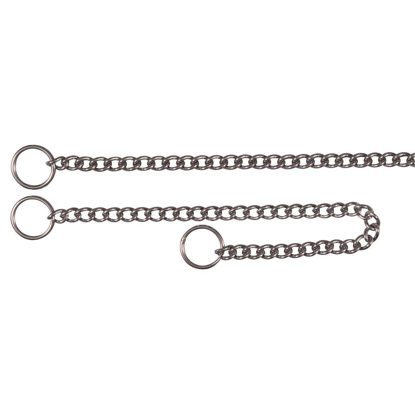 Collier acier inoxydable, simple rang, 45 cm/2,5 mm pour chien Trixie 4011905021621