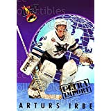 Arturs Irbe Hockey Card 1992-93 Ultra Import #5 Arturs Irbe