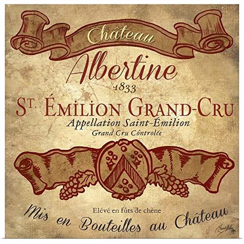 GREATBIGCANVAS Poster Print Entitled Wine Label IV by Elizabeth Medley 12