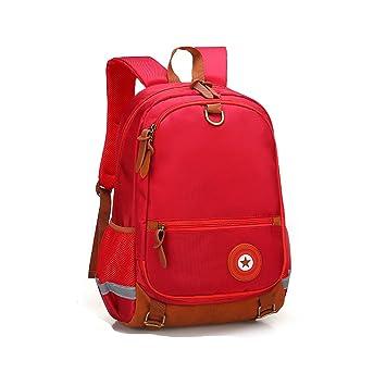 ZHIMABABY Mochilas escolares para adolescentes Niños Niñas Diseño reflectante impermeable Mochila Oxford de tela Mochila escolar mochila de estudiante de ...