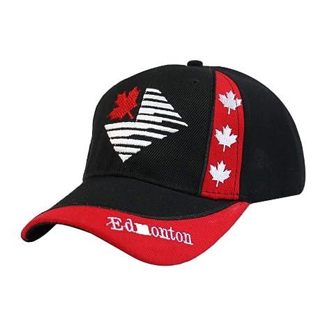 zhuzhuwen Gorra de béisbol Bordada en inglés Canadiense Gorra para ...