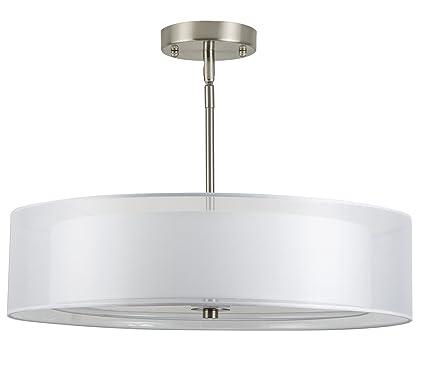 3 light ceiling fixture capital grazia 20 inch light drum chandelier ceiling brushed nickel linea di liara