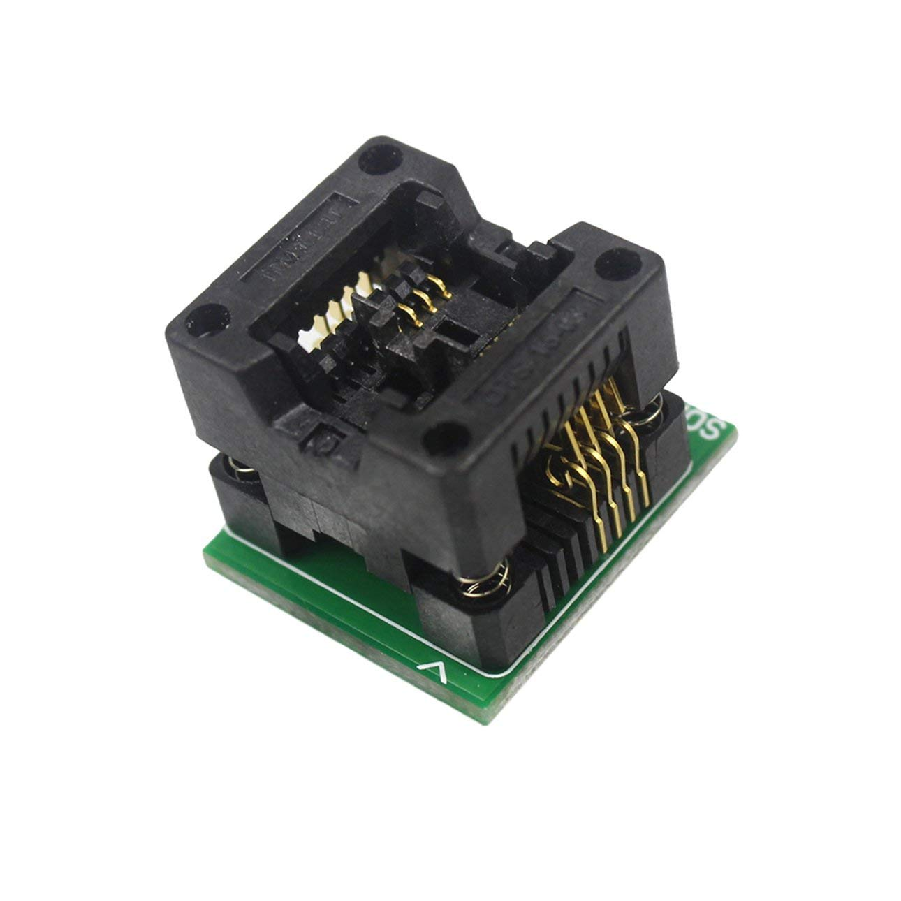 Liobaba SOP8 to DIP8 Wide-Body Seat Wide 200mil Programmer Adapter Socket Converter Module for All-11 Series LT-48 Series