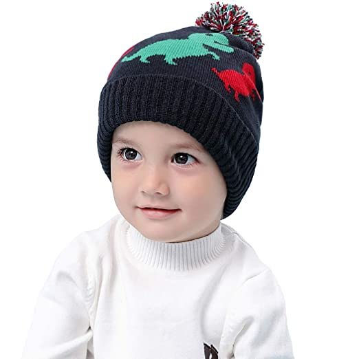 Amazon.com  Aniwon Christmas Baby Hat Cute Warm Baby Earflap Beanie ... f6eb89ebe459