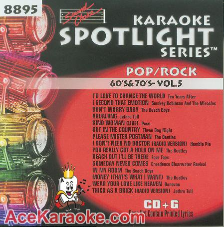Sound Choice Karaoke Spotlight CDG SCG8895 - 60's & 70's Vol. 5 (Choice Karaoke Sound Spotlight)