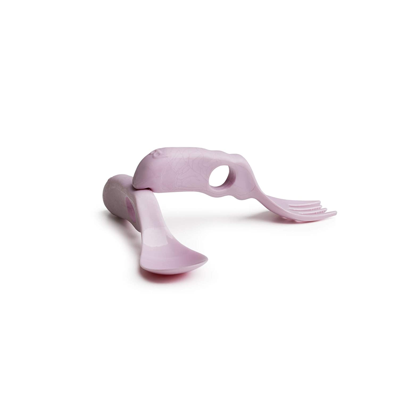 rosa Herobility HEC-BYSETPK0201 /Öko-Baby-L/öffel /& Gabel
