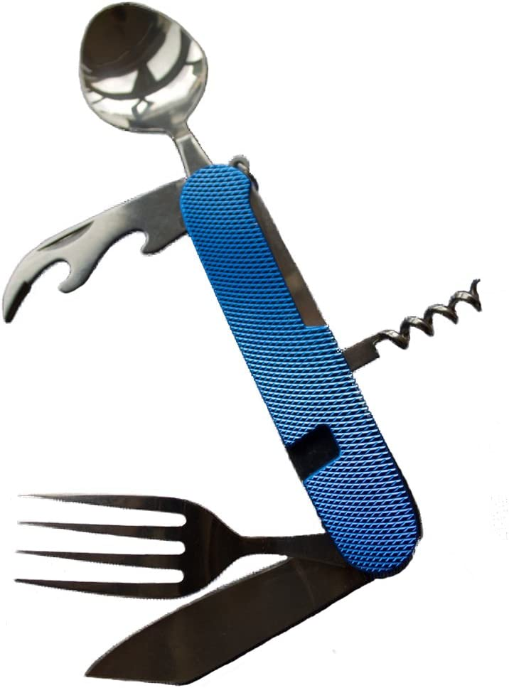 """1xPortable tableware outdoor picnic spoon fork knife.dinnerware camping cutlery"""""""