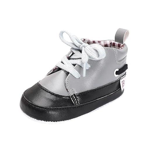 a71d519567fd9 Amazon.com: Baby Sneakers Girls, Amiley New Lattice Splicing Crib ...
