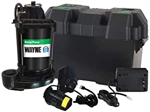 Wayne ESP25 Upgraded 12-Volt Battery Backup System