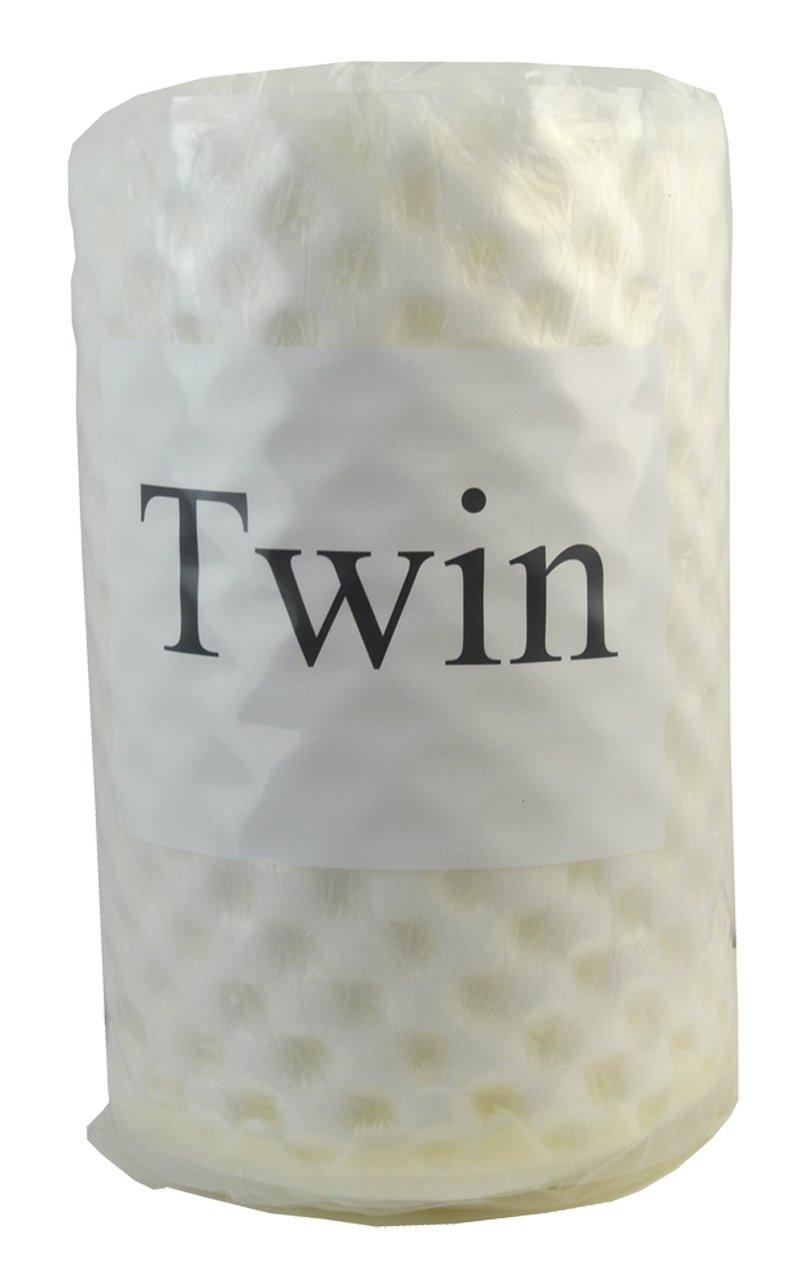 BELAGIO Enterprises Convoluted Foam Topper, Twin
