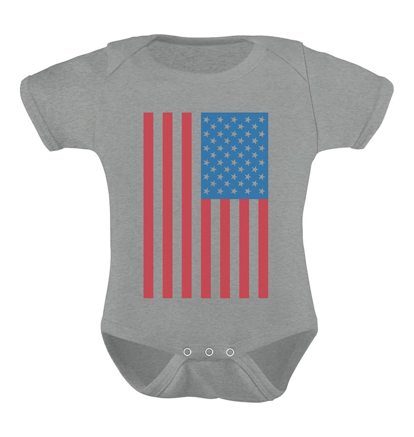 Amazon American Flag Cute USA Patriotic Baby 4th of July Infant