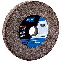 Grinding Wheel, T1, 6x3/4x1, Aluminum Oxide, 60/80G, Gray by Norton Abrasives - St. Gobain