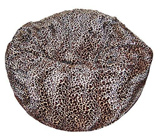 Ahh! Products Cheetah Animal Print Fur Washable Large Bean Bag Chair by Ahh! Products (Print Bean Bag Cheetah)
