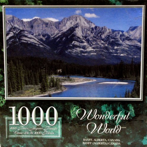 Price comparison product image Wonderful World - Banff,  Alberta,  Canada - 1000 Piece Jigsaw Puzzle