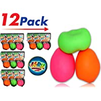 2GoodShop Stretchy Ball (Pack of 12) | Bounce Stress Ball Pull and Stretch Fun - Item #401
