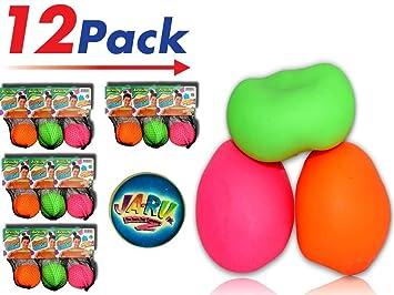 Amazon.com: JA-RU - Juego de 2 pelotas elásticas y 1 pelota ...