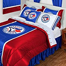 MLB Toronto Blue Jays King Bedding Baseball Comforter Sheets