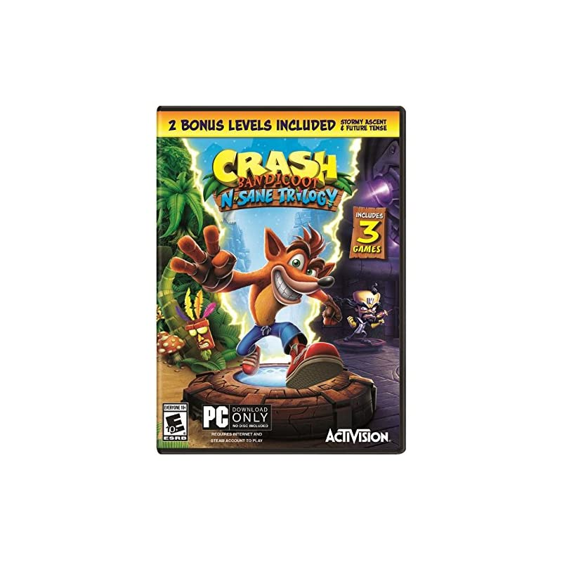 Crash Bandicoot N. Sane Trilogy - PC Sta