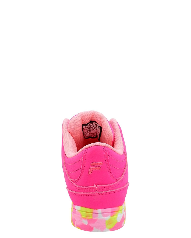 ,Pink,1.5 Fila Kids Falina Mashup Sneaker Little Kid