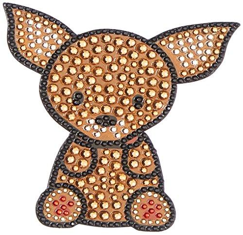 Dozen Rhinestone - FouFou Dog Rhinestone Sticker Chihuahua