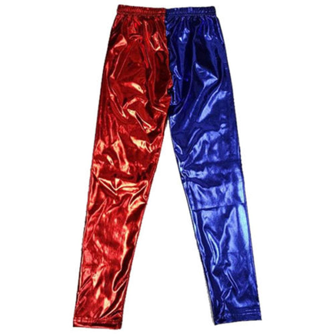 Loxdonz Girls Kids Disco Metallic Shiny Dance Leggings Pants Footless Age 3-13 Years