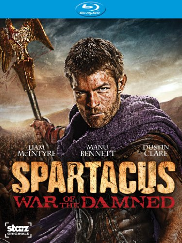 Blu-ray : Spartacus: War of the Damned (Boxed Set, 3 Disc)