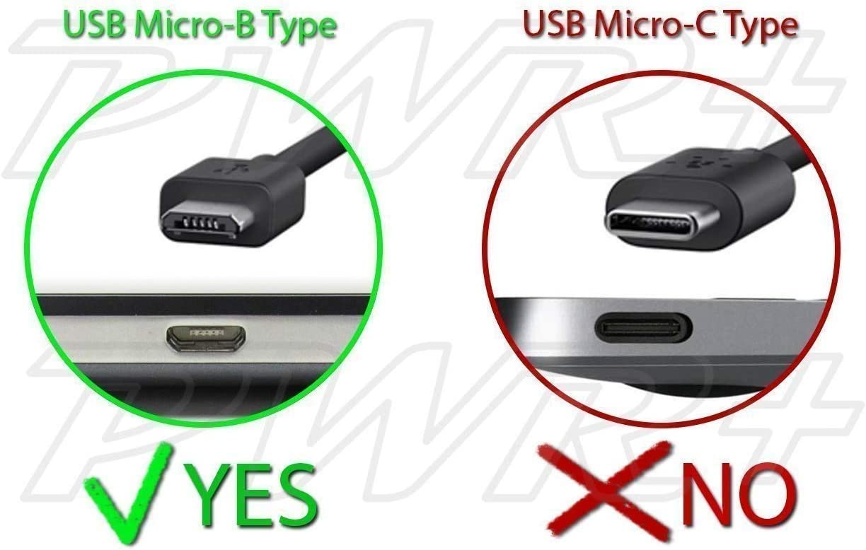 PWR Samsung Galaxy SII SIII S4 S5 S6 S7 J7 Note Tab Google Nexus LG ZTE Asus T100 BlackBerry HTC Oneplus BLU Moto Huawei Extra Long 6.5 Ft Rapid 2.1A Charger for Fast Charging Tablet and Phone