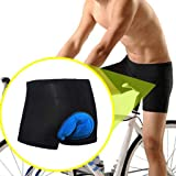 CapsA Cycling Shorts 3D Padded Bike Bicycle Cycling Underwear Shorts Breathable Quick Dry Pants Lightweight Shorts for Men Women Comfortable Underwear Padded
