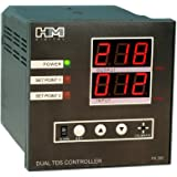 HM Digital PS-202 Dual Display TDS Controller, 0-999 ppm Measurement Range, 1 ppm Resolution, +/- 2% Readout Accuracy