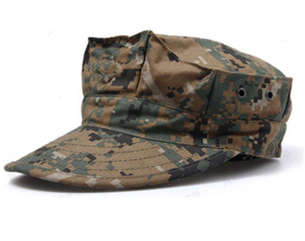 Camuflaje sombrero octogonal gorra uniforme Cap al aire libre ...