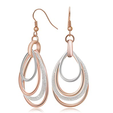 plated for color item from jewelry new price classic top woman in quality factory sexy fashion design earrings hoop rose gold