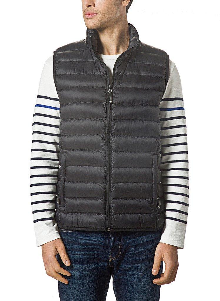 XPOSURZONE Men Packable Lightweight Down Vest Outdoor Puffer Vest by XPOSURZONE
