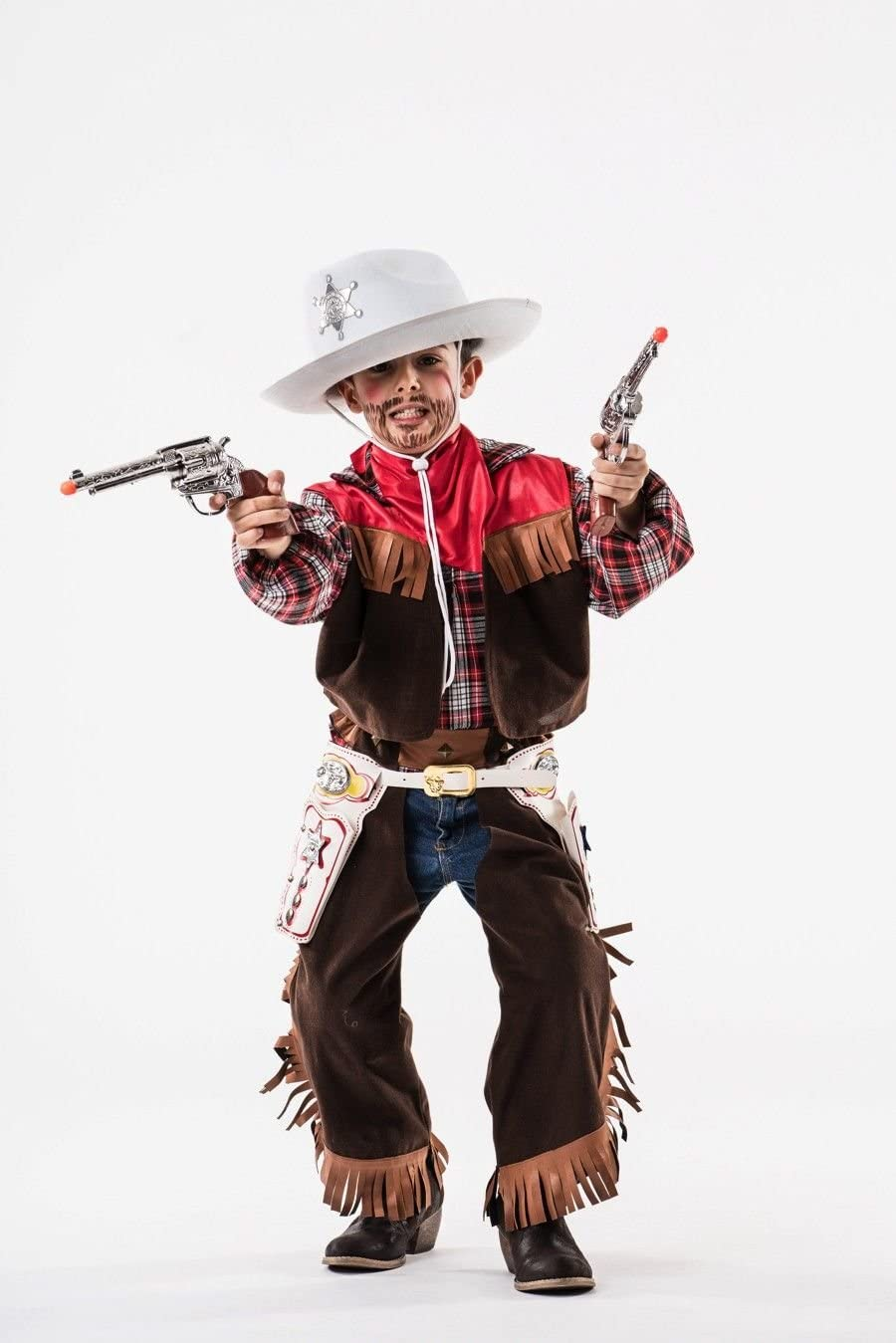 Disfraz de Vaquero Niño (5 - 7 años): Amazon.es: Juguetes y juegos