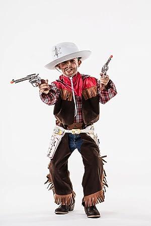 Disfraz de Vaquero Niño (8 - 10 años): Amazon.es: Juguetes y juegos